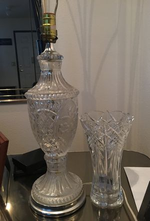 Crystal Lamp for Sale in Stockton, CA