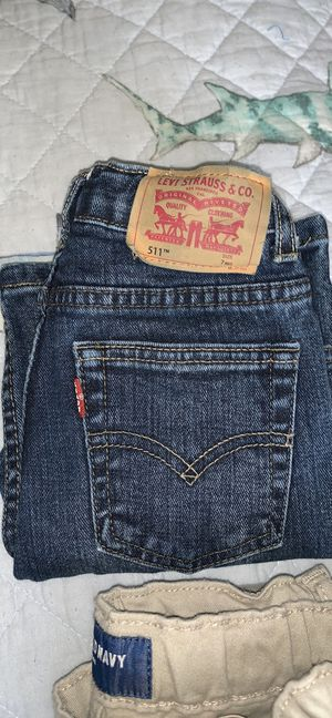 Size 6 Levi's and khakis for boys for Sale in Concord, CA