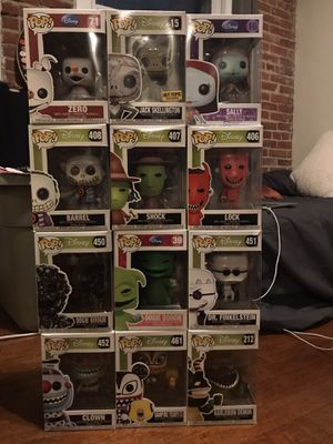 Nightmare Before Christmas Funko Pops for Sale in Los Angeles, CA