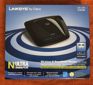 Linksys N Ultra Range Plus Wireless N Broadband Router WRT160N - Cash & Carry or will ship for Sale in Athens, PA