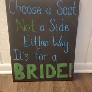 Wedding Sign for Sale in Orland Park, IL