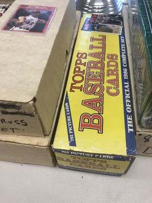 Old school baseball cards all types for Sale in Miami, FL