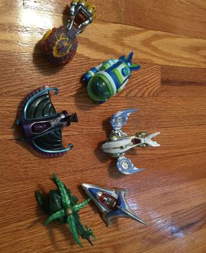 Skylanders SuperChargers Lot of 6 Vehicles PS4 Wii Xbox Land Sky Game Character for Sale in Providence, RI