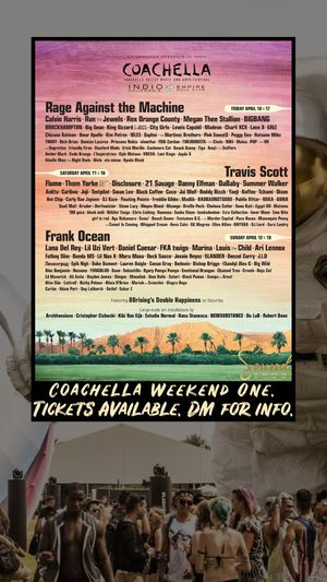 Coachella Weekend 1 Wristband for Sale in Los Angeles, CA