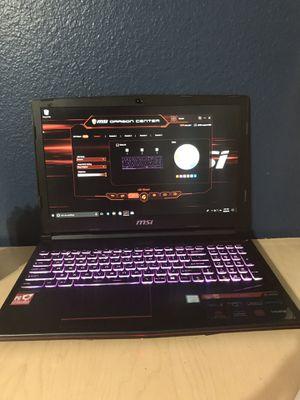Msi gaming laptop i7-8750H/16GB/1060 6GB for Sale in La Puente, CA