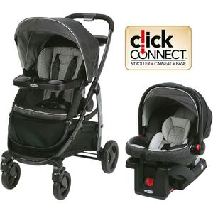 Graco Modes Click Connect Travel System, Car Seat Stroller Combo for Sale in Atlanta, GA