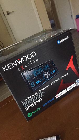Never been opened kenwood stereo system for Sale in Lakewood, CO