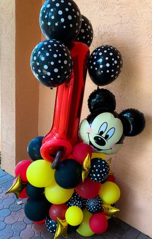 Mickey Balloon Arrangement for Sale in Hialeah, FL