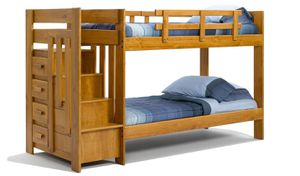 😀Twin/Twin Staircase Bunk Bed w/Staircase Drawers 🚚 FAST DELIVERY CHARLOTTE AREA 🚚🔥🔥***buysmart and SAVE 💰!!!!🔥 {url removed} is the online s for Sale in Matthews, NC