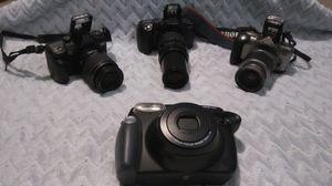 NON DIGITAL 2 Minolta, Canon and Fujifilm Cameras, NON DIGITAL for Sale in Cheyenne, WY