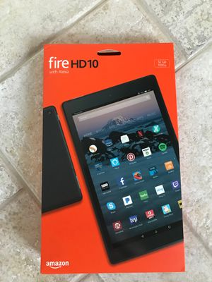 FireHD10 with Alexa- brand new for Sale in Cary, NC