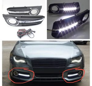 2pcs For Audi A4 B8 2008 2009 2010 2011 2012 LED DRL Fog Daytime Running Light for Sale in Downers Grove, IL