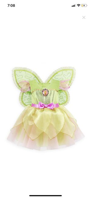 Tinkerbell costume Disney collection 💛💚 for Sale in Downey, CA