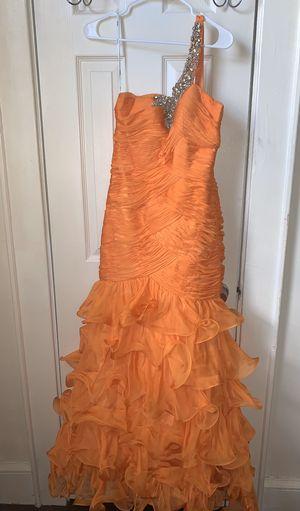 Mermaid orange ruffle Dress for Sale in Newark, NJ