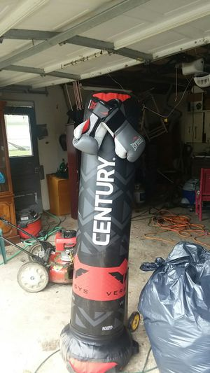 Punching bag and gloves for Sale in Streetsboro, OH