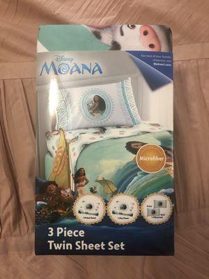 moana twin sheet set for Sale in Tijuana, MX