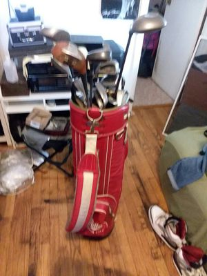 Callaway big berths golf clubs set plus more 20 different clubs 250 for Sale in Glenn Dale, MD
