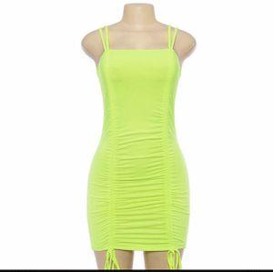 Yellow clubwear dress for Sale in Arlington, TX