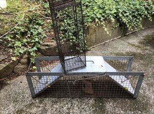 """Live"" traps! Both for only $30. Big one is good for raccoons. for Sale in Kirkland, WA"
