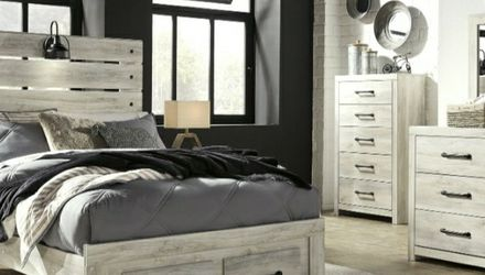 [SPECIAL] Cambeck Whitewash Youth Footboard Storage Bedroom Set for Sale in Arlington,  VA