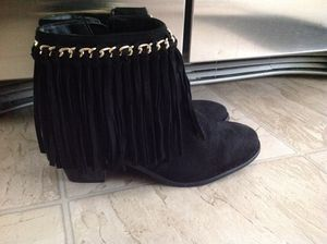 Black suede ankle boot for Sale in North Highlands, CA