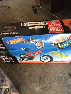 "Hot Wheels 12"" Bicycle New in Box for Sale in Calera, AL"