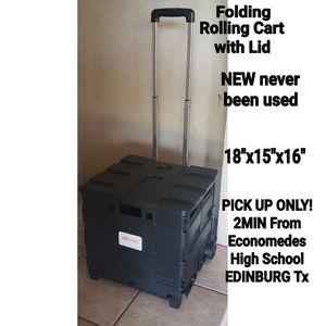 New Folding Rolling Cart for Sale in Edinburg, TX