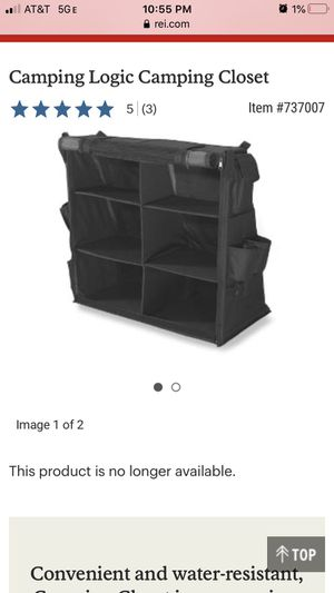 Camping Logic organizer for Sale in Fort McDowell, AZ