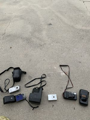 Five different camera Sony and Conan all for $200 for Sale in Bellflower, CA