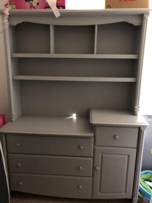 Gray Wardrobe Drawers - Real Wood