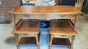 SOLID WOOD COFFEE TABLE AND END TABLES for Sale in Chesapeake, VA