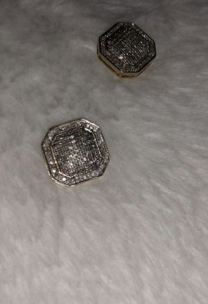 REAL DIAMOND EARRINGS FOR SALE READ CAPTION for Sale in San Bruno, CA