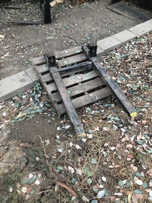 Quick attach tractor forks $150 or best offer for Sale in La Habra Heights, CA