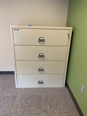 "FireKing 44"" Wide 1-Hour Rated Lateral Fireproof File Cabinet for Sale in Greenville, SC"