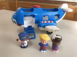 Fisher Price's Little People Airplane for Sale in Victorville, CA