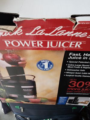 Jack LaLanne Power Juicer for Sale in Wilson, NC