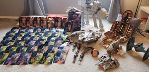 HUGE STAR WARS LOT - POTF FIGS/VEHICLES for Sale in Kent, WA