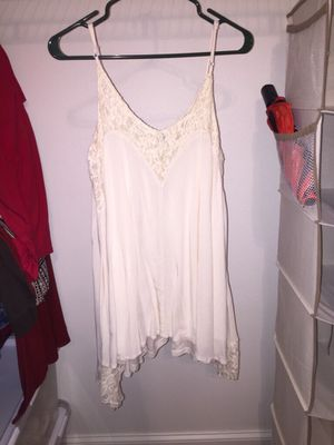 White shirt/dress for Sale in Fitzgerald, GA