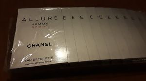 new 12 pc allure home sport chanel 1.5ml perfume $5.00 each for Sale in Chandler, AZ