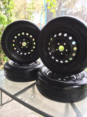 15 inch wheels+tires 5x114.3 for Sale in Spring Valley, CA