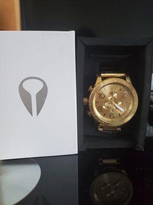 Nixon Gold 51-30 Men's Watch for Sale in Alta Loma, CA