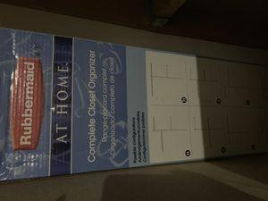 Closet organizer-rubbermaid for Sale in Tracy, CA