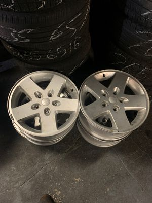 """Jeep rims 17"""" inches with tire pressure sensors for Sale in Philadelphia, PA"""