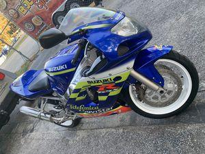 02 Suzuki Gsxr 600 Telefonica Movistar Edition for Sale in Tampa, FL