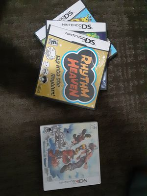 3 DS & 1 Nintendo DS Games All In the Box!!!! for Sale in Salt Lake City, UT
