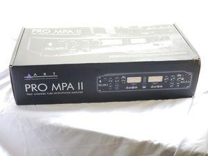 ART PRO MPA II - Microphone Preamplifier-$250 for Sale in San Antonio, TX
