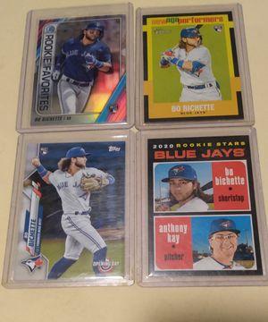 Bo Bichette rookie baseball cards for Sale in Tacoma, WA