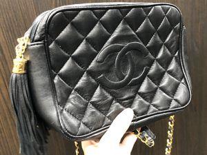 Chanel black crossbody purse for Sale in Seattle, WA