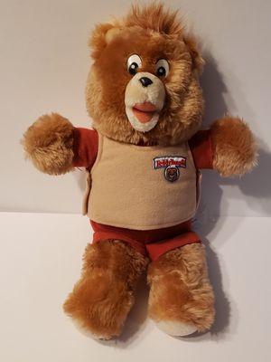 10 inch TEDDY RUXPIN stuffed PLUSH for Sale in Ontario, CA