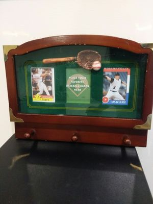 Baseball card wall holder for Sale in Bloomingdale, IL
